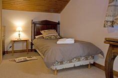 Chambre twin du Chalet de l'hotel du Jeu de Paume Chamonix