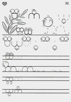 Íráselemek gyakorlása - boros.patricia - Веб-альбомы Picasa Tracing Worksheets, Preschool Worksheets, Motor Activities, Activities For Kids, Pre Writing, Activity Games, 4 Kids, Fine Motor Skills, Coloring Pages For Kids
