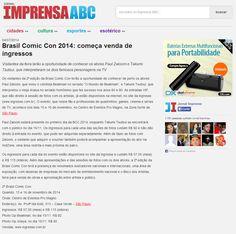 Brasil Comic Con 2014: começa venda de ingressos