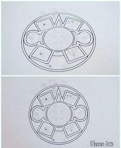 1st step... Of Aztec Calendar  #aztec #azteccalendar #aztecdrawing #sunstone