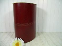 Vintage Burgundy Leatherette with Gold Tooling by DivineOrders, $27.00