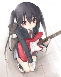 Azusa from K-ON