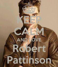 Keep calm: Robert Pattinson (01)