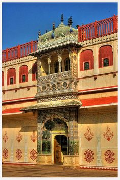 Jaipur - City Palace Peacock Gate (dcj seen)