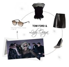 """What does Tom Ford with Lady Gaga bring?"" by smartbuyglasses-uk ❤ liked on Polyvore featuring Tom Ford, Louis Vuitton, MICHAEL Michael Kors, black and LadyGaGa"