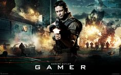 Watch Streaming HD Gamer, starring Gerard Butler, Michael C. Hall, Ludacris, Amber Valletta. In a future mind-controlling game, death row convicts are forced to battle in a 'doom'-type environment. Convict Kable, controlled by Simon, a skilled teenage gamer, must survive 30 sessions in order to be set free. Or won't he? #Action #Sci-Fi #Thriller http://play.theatrr.com/play.php?movie=1034032