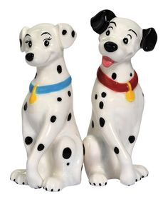 Take a look at this Loving Dalmatians Salt & Pepper Shakers by Westland Giftware on #zulily today!