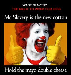 """RT """"@athoughtz: @fightfor15 @joehandy hold the mayo double cheese, do the people hold the power? """""""