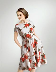 H.E.I.D.E flowered dress