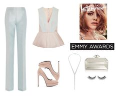 """Emmy"" by anafest ❤ liked on Polyvore featuring Antonio Berardi, Yves Saint Laurent, Judith Leiber, AS29 and Rimini"