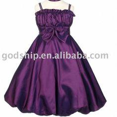 Purple Flower Girl Dresses - Bing Images
