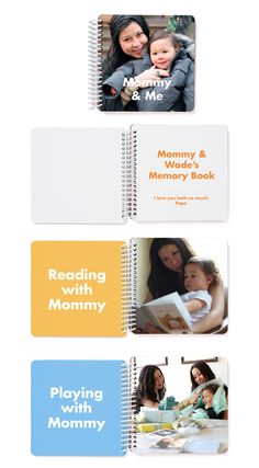 Mommy & Me Board Book from Pinhole Press