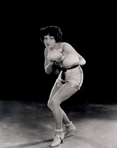 Clara Bow.  Women have been rebels for many years. And in heels at that. Blast from the past