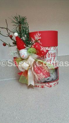 Arreglo navideño para regalo