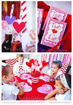 Valentines Day Party Ideas and free printables featured on LivingLocurto.com