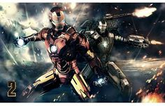 Iron Man and War Machine (Iron Man 2)