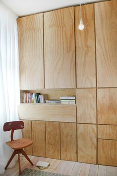 Hidden Desk Cabinet Inspirational Home Decorating for Trendy Fold Out Desk In the Closet Clever Interior Design Ideas Abode for Hidden Desk Cabinet Plywood Furniture, Furniture Design, Plywood Cabinets, Office Furniture, Plywood Desk, Plywood Storage, Built In Furniture, Furniture Ideas, Plywood Kitchen