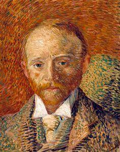 Vincent van Gogh Sanat Taciri Alexandre Reid'in Portresi / Portrait of Alexander Reid 1887. Mukavva üzerine yağlıboya. 41.5 x 33.5 cm. Art Gallery and Museum, Glasgow.