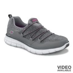 """""""Skechers Synergy Asset Play Slip-On Shoes - Women"""" So comfy, really amazing, like walking on clouds..."""