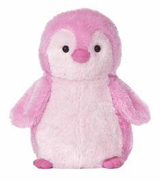 Pink stuffed penguin! So cute!