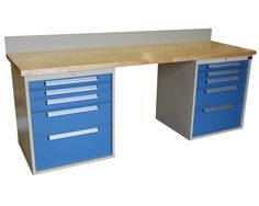 IHL Series - Double Cabinet Workbench