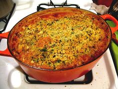 Cassoulet--my French host mother used to make this and it was delicious. Must try. All I need is a Dutch oven...