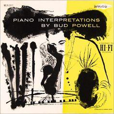 Bud Powell, Piano Interpretations, Norgran 1077, David Stone Martin