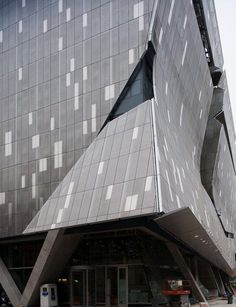 Mayne's New Academic Building for Cooper Union (2009)