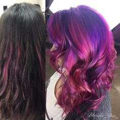 Colorful Transformation.  #gorgeous #hairmood#instahair#beautyblogger#bliss#create##btconeshot_creativecolor16#btconeshot_haircolor_16#btconeshot_color16#btconeshot_rainbow16#btconeshot_hairpaint16#btconeshot_curls16#btconeshot_transformation16#oneshot#mermaidians#mermaidiansofapril#modsquad#behindthechair#joico#intensity#209 by blondie_dee_