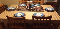 Winter in the Country Tablescape!   Love my country home.  2015