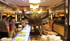 Php (plus service charge) is a considerable amount for one person to spend for a dinner; though I'd say it's money worth spending at Vikings Buffet (MOA). Filling Food, Vikings, Mall, Buffet, Asia, Cooking, Wedding Ideas, Luxury, Board