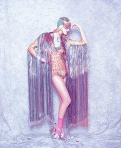 Lavender likes...to make a statement. #lavender #fashion #disco