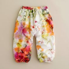 Shop the Girls' watercolor billow pant at J.Crew and see the entire selection of Girls' Pants. Find Girls' clothing & accessories at J. Little Girl Fashion, Kids Fashion, Little People, Little Girls, Fashion Moda, Abaya Fashion, Tank Girl, Kid Styles, Sewing For Kids