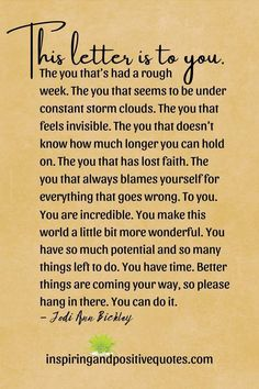 You Are Incredible, Feeling Invisible, Losing Faith, Quotes And Notes, Healing Quotes, Storm Clouds, Note To Self, Have Time, You Can Do