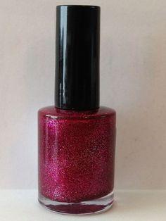 Glitter, glorious glitter - 10ml indie nail polish on Etsy, £5.20