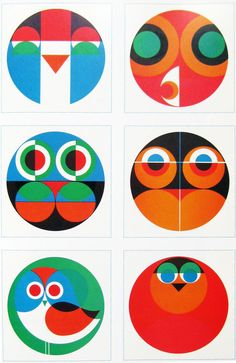 Paul Vermeersch  owl  Direct mail for Intermills  Paper company  1967