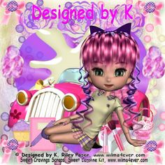 Using a kit that features the Riley poser by Designed by K, available at www.wilma4ever.com