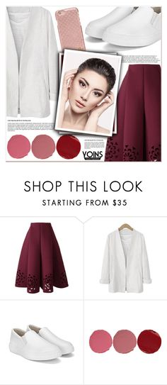 """""""Yoins"""" by lucky-1990 ❤ liked on Polyvore featuring Charlotte Tilbury and Tory Burch"""