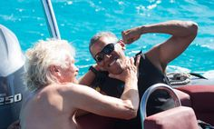 Former U.S. President Barack Obama's is having an adventurous vacation with billionaire businessman Richard Branson including kitesurfing on Branson's Moskito Island.