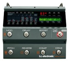 TC Electronic Nova System Floor Based Analog Overdrive/Distortion with G-System Effects and Dynamics Processing by TC Electronic. $384.99