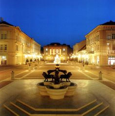 Szeged, Hungary----- 50 min drive from the tanya Places Around The World, Travel Around The World, Around The Worlds, What A Wonderful World, Beautiful World, Beautiful Places, Heart Of Europe, Central Europe, Budapest Hungary
