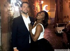 Tennis legend Serena Williams announced her engagement to Reddit co-founder and boyfriend Alexis Ohanian