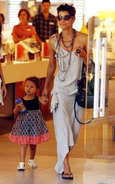 daughter Nahla & Halle Berry