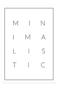 MINIMALISTIC - My White Obsession