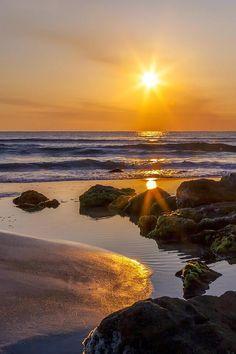 St. Augustine Beach, Florida at sunrise