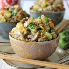 The secret to making the healthiest, yet oh-so-tasty, veggie fried rice!