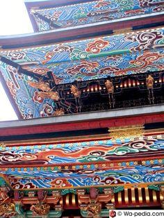 Three-storied pagoda, Narita-san Shinshou-ji Temple, Narita