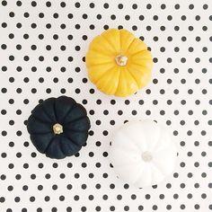 Polka pumpkins