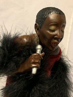African American Jazz Art Portrait Doll By Elizabeth Jenkins IDMA KC 2001 In Box | eBay American Indian Girl, Indian Girls, Dolls For Sale, New Dolls, The Jazz Singer, Jazz Art, Doll Parts, Bisque Doll, Fabric Dolls