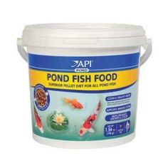 API Pond Fish Food 4 mm. Pellet 25 oz.